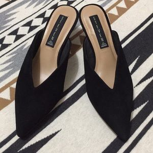 🖤 Steven by Steve Madden suede black shoes